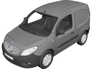 Mercedes-Benz Citan Compact 109CDI 3D Model