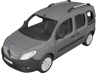 Mercedes-Benz Citan 109CDI 3D Model