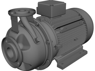 Xylem Pump CAD 3D Model