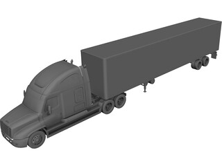 Freightliner Cascadia 3D Model 3D Preview
