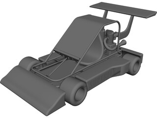 Superfly Go Kart CAD 3D Model