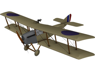 Martinsyde G.100 Elephant 3D Model