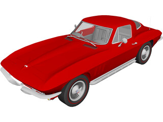 Chevrolet Corvette Stingray (1965) 3D Model