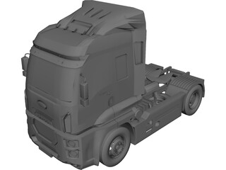 Ford Cargo 1846T 3D Model