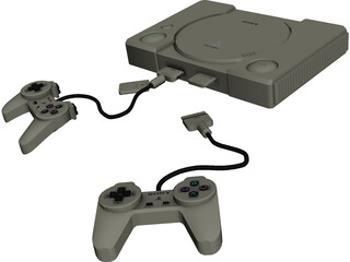 Sony Playstation 1 3D Model