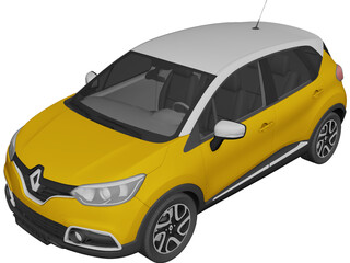 Ranault Captur (2014) 3D Model
