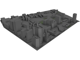 Minneapolis Washington Square 3D Model