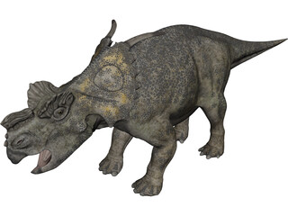 Achelousaurus 3D Model