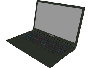 Notebook Samsung 3D Model