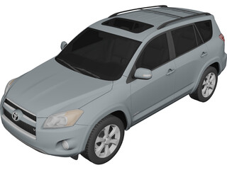 Toyota RAV4 Limited (2012) 3D Model 3D Preview