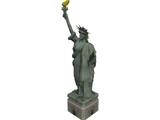 Statue of Liberty USA 3D Model
