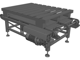 Pallet Dispenser CAD 3D Model