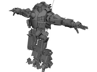 Atlas Titan 3D Model