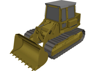 Liebherr Laderaupe 3D Model