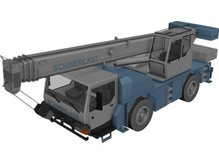 Schwerlast Lifter 3D Model