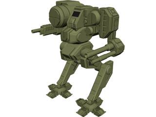 Chimera Battletech 3D Model