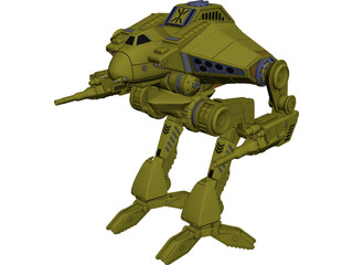 Cougar Battletech 3D Model