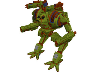 BloodAsp Battletech 3D Model