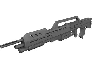Morita Assault Rifle 3D Model