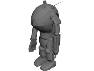 Super Armored Fighting Suit 3D Model