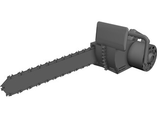 Chainsaw 3D Model