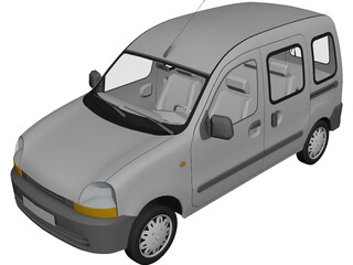 Renault Kangoo Combi 3D Model 3D Preview