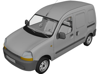 Renault Kangoo Express 3D Model