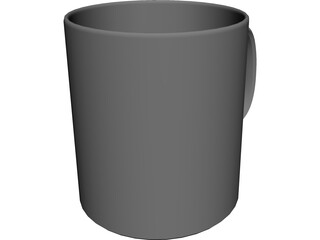 Coffee Mug 3D Model 3D Preview