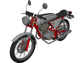 Honda Dream 50 3D Model