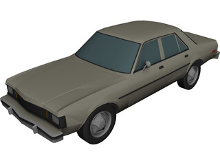 Plymouth Aspen (1981) 3D Model