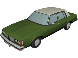 Oldsmobile Cutlass Sedan (1985) 3D Model