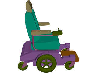Pronto Wheelchair 3D Model