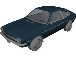 Ford Pinto (1973) 3D Model