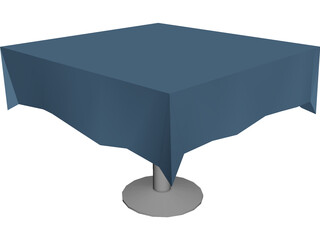 Table Cloth Princeton 3D Model