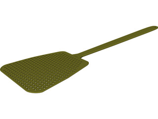 Fly Swatter 3D Model 3D Preview