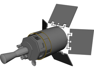 Defense Satellite (DSP) 3D Model
