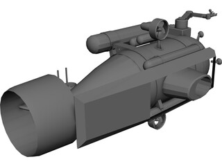 Submersible 3D Model