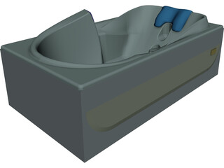 Custom Bathtub 3D Model