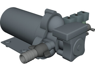 AC&R Circ Pump and TXVs 3D Model