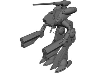Battletech Marauder 3D Model