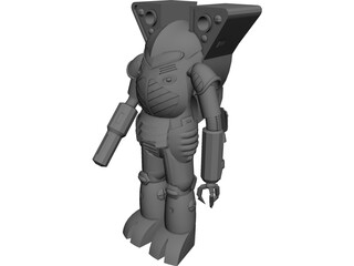 Battletech Elemental 3D Model