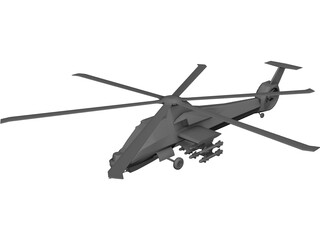 Boeing/Sikorsky RAH-66 Comanche 3D Model 3D Preview