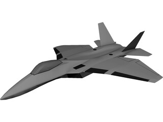 Sukhoi Su-60 Stealth 3D Model