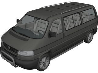 Volkswagen Transporter T4 3D Model