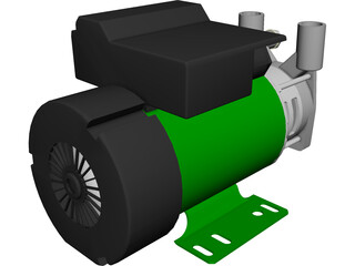 Electric Pump 3D Model