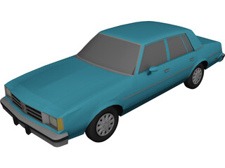 Oldsmobile Cutlass Brougham (1981) 3D Model