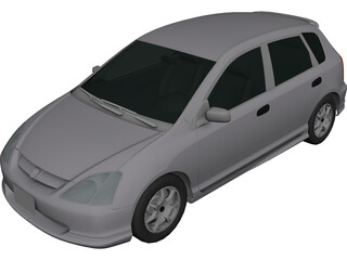 Honda Civic (2000) 3D Model