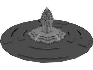 Independence Monument (Cambodia) 3D Model
