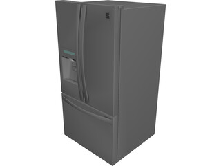 Kenmore ELITE 33 Fridge CAD 3D Model