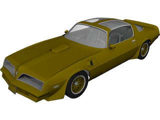 Pontiac Trans Am (1977) 3D Model